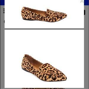 Steve Madden Leopard Flats Size 8